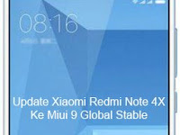 Update Xiaomi Redmi Note 4X Ke Miui 9 Global Stable (Android Nougat)