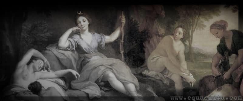 Римская богиня охоты Диана и ее древнегреческая коллега Артемида