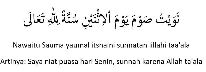 Jadwal Puasa Sunnah Bulan Muharram 1442 H 2020 Lengkap Dengan Niatnya Abu Syuja