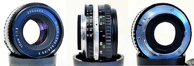 Nikon Series E (Ai-S) 50mm f/1.8 #492