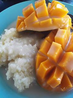 Resepi Pulut Mangga Thai