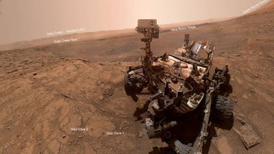 NASA mostra como a equipe Mars Curiosity gerencia o veículo espacial em casa