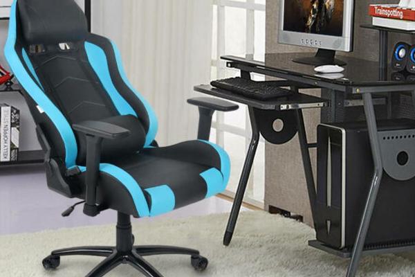 cadeira ergonômica em escritório em casa