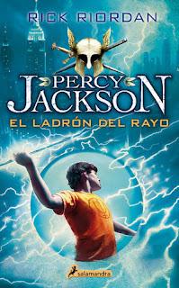 Percy Jackson y el ladrón del rayo 1, Rick Riordan