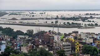 पटना: छठे दिन छह लाख लोग पानी में कैद।