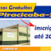 Cursos gratuitos em Piracicaba
