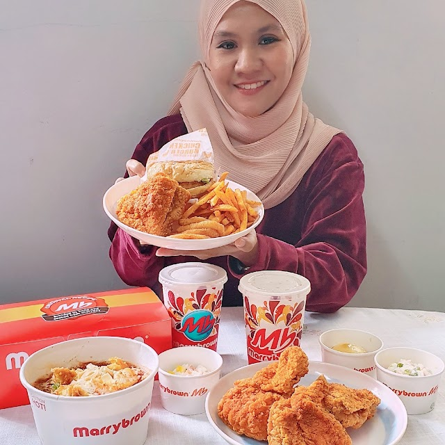 Spice Up your Day with Marrybrown Malaysia New Mala Fried Chicken.