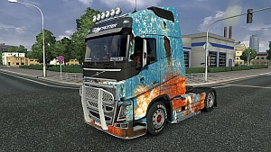 Volvo Rust Skin by Stagg