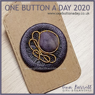 One Button a Day 2020 by Gina Barrett - Day 159 : Dither