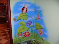 Pokój dziecka malowanie ściany, Bydgoszcz