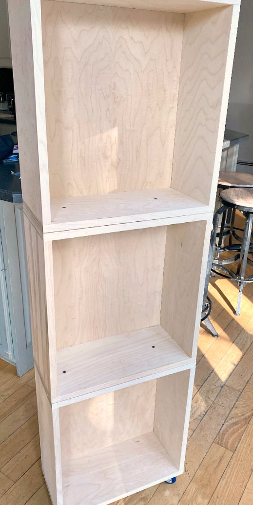 Stacking Crate storage for Kitchen Appliances