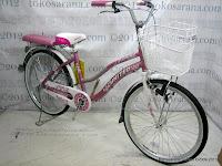 City Bike United Lavender AL Rangka Aloi 24 Inci