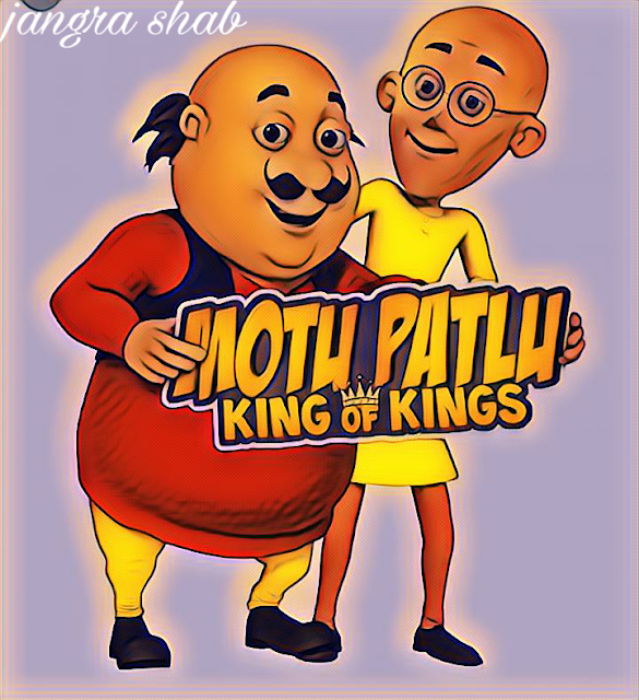 Motu Patlu Ki Jodi,Drawing,Video,Song,Movie,Hindi,images,worldart4u