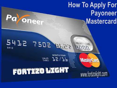 Steps to follow during the Payoneer sign up processes