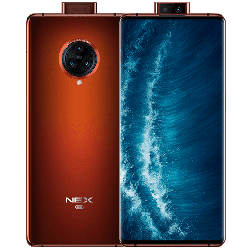 Vivo NEX 3S 5G with SD865 and waterfall screen now official