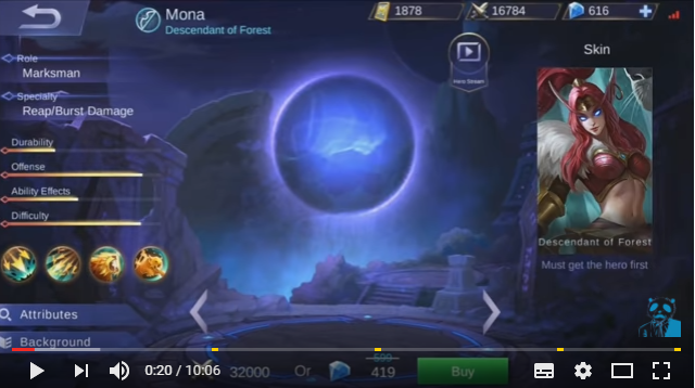 "New Hero ""Mona"" and Her Skills Suddenly Leaked Online"
