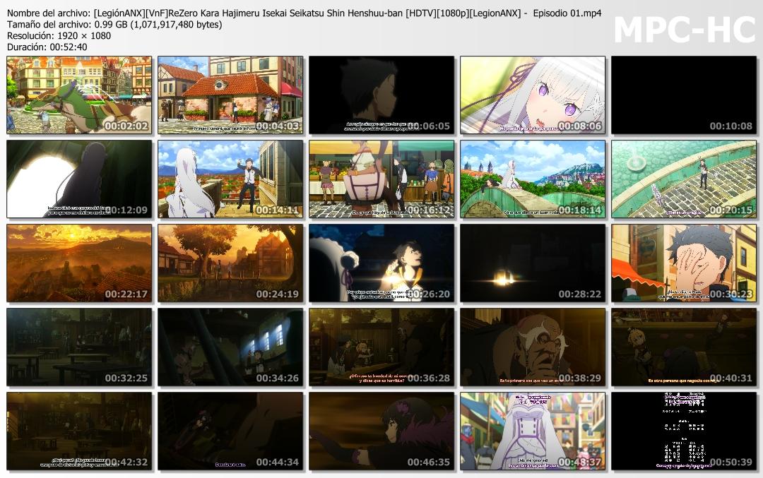 Re:Zero kara Hajimeru Isekai Seikatsu: Shin Henshuu-ban [13/13][HDTV][1080p][MP4][2020]