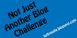 Not Just Another Blog Challenge