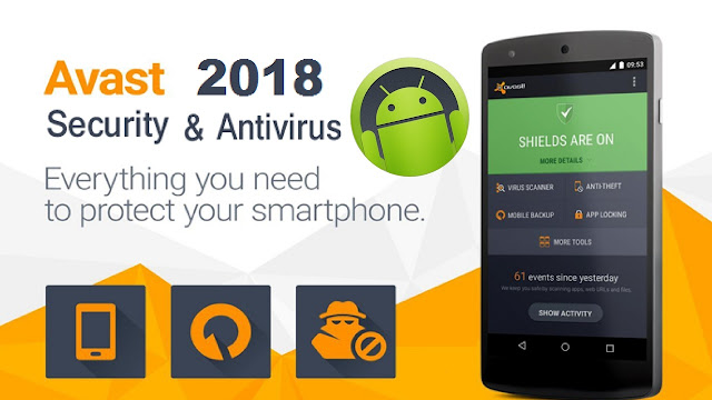 Download Avast AntiVirus Pro Apk 2018 Android Mobile Security