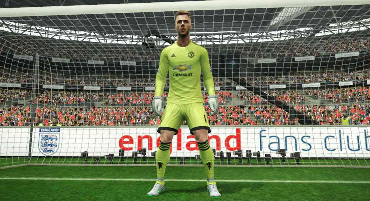 Update manchester united pes database di