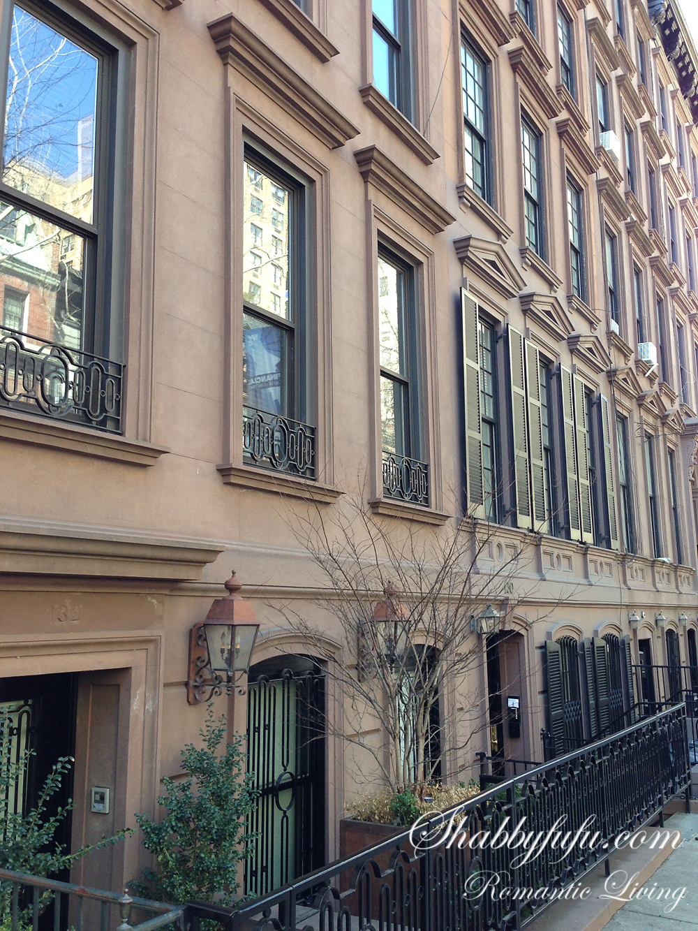 upper east side brownstone shot