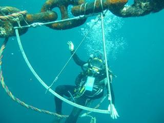 Survei anchor mooring kapal