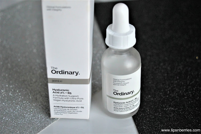 The Ordinary best serum for dry skin