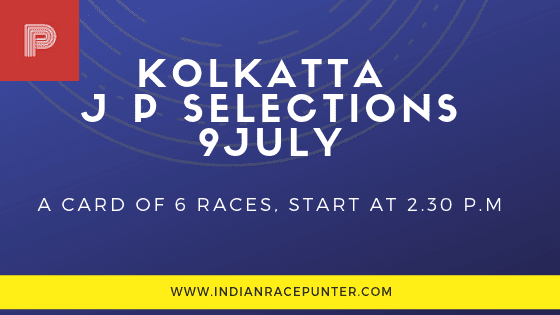Kolkatta Jackpot Selections 9 July, trackeagle, track eagle, racingpulse, racing pulse