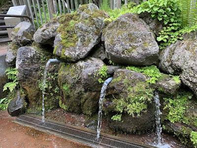 ふきだし公園 水汲み場