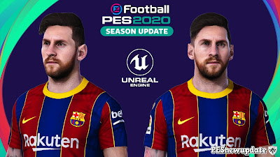 PES 2020 Faces Lionel Messi by Sameh Momen