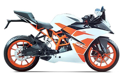 New 2017 KTM RC 200 new shades image