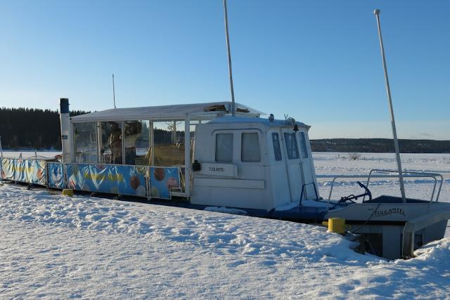 jäätelölaiva, Lahti, talvikuvat