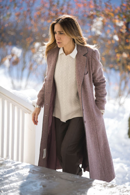 Frances in one of her oft-repeated winter coats. Photo: Craig Blankenhorn/HBO