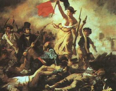 Delacroix: La libertad guiando al pueblo
