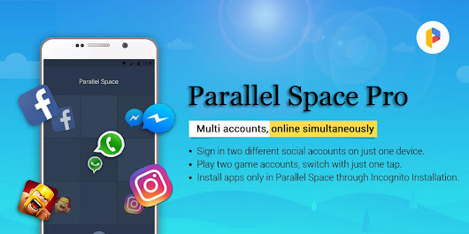 Download Parallel Space Pro - Multi Accounts Cracked Apk Free [LATEST] [2018]