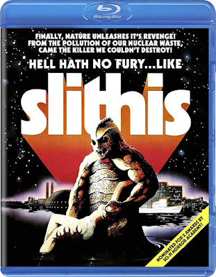 Blu-ray cover for Code Red's SLITHIS!