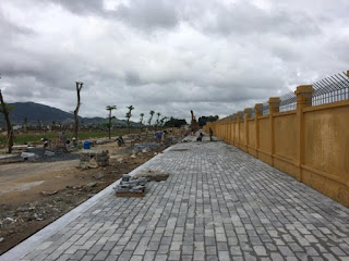 Khu vực phố đi bộ tại Siêu dự án sân bay Nha Trang