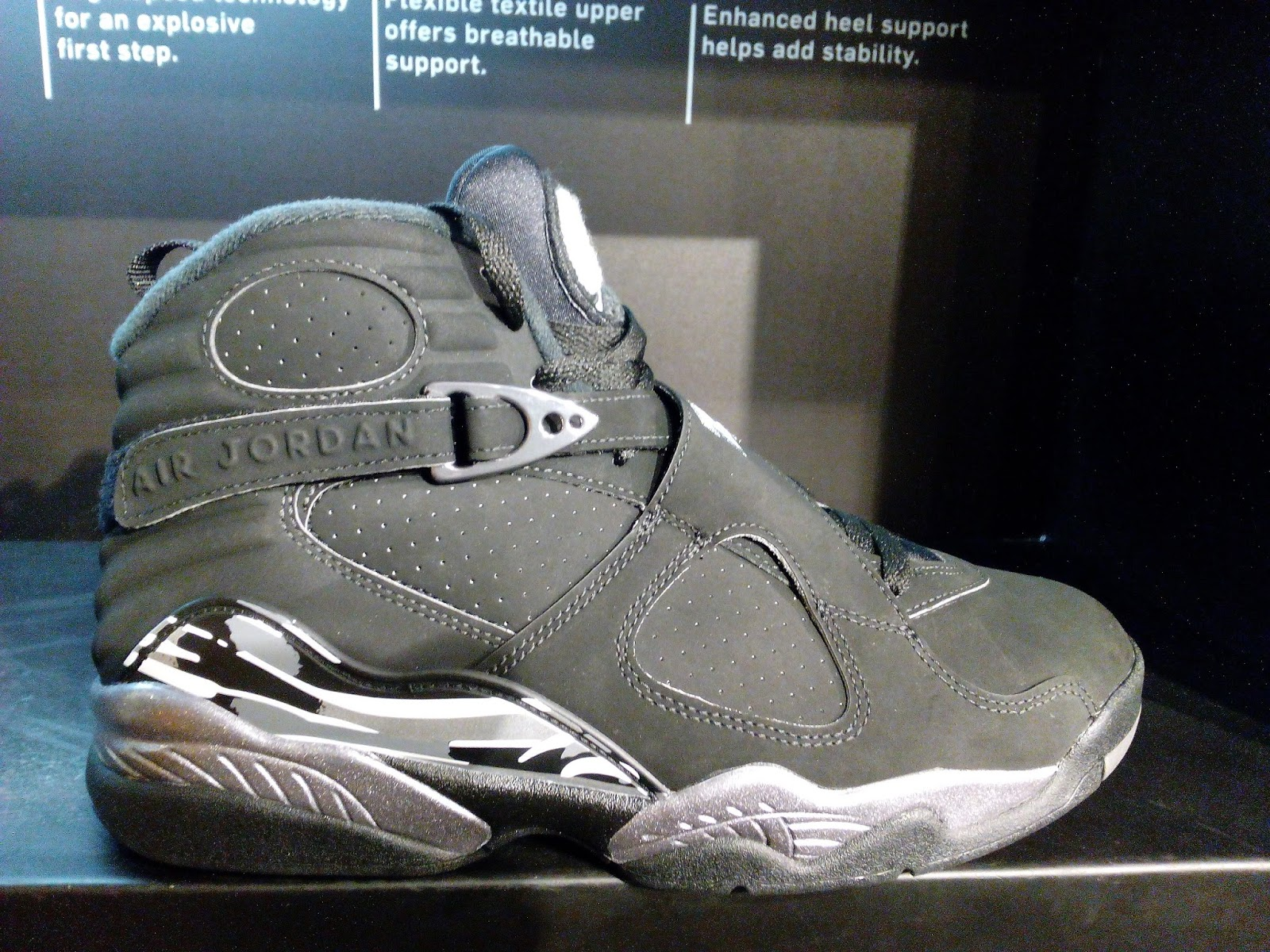 finest selection 31734 d84c1 Air Jordan 8 Retro Chrome | Analykix