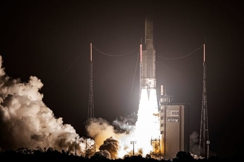 The European Union accelerates space flight plans in response to SpaceX
