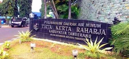 Alamat Nomor Telepon Kantor PDAM Kota Kota Tangerang
