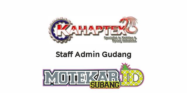 Info Lowongan Kerja PT Kahaptex Maret 2021