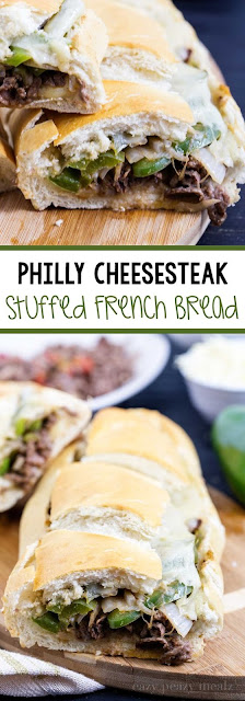 Philly Cheesesteak Stuffed French Breadstuff Recipe