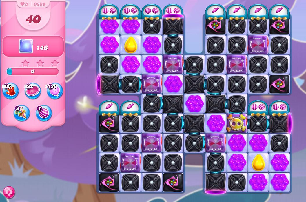 Candy Crush Saga level 9238