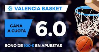 Paston Megacuota EuroLiga: Barcelona Lassa vs Valencia Basket 17 noviembre