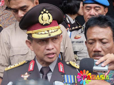 Kapolri Polda Metro Jaya Membahas Pengamanan Pilgub DKI dalam Rapat