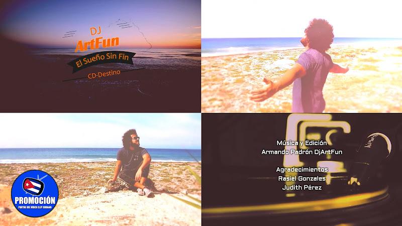 Dj ArtFun - ¨El sueño sin fin¨ - Videoclip. Portal Del Vídeo Clip Cubano. Música electrónica cubana. Cuba.