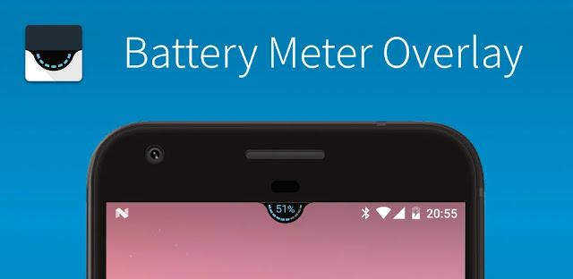 تحميل تطبيق Battery Meter Overlay Pro لإظهار نسبة البطارية وإطالة عمرها وتخصيصها