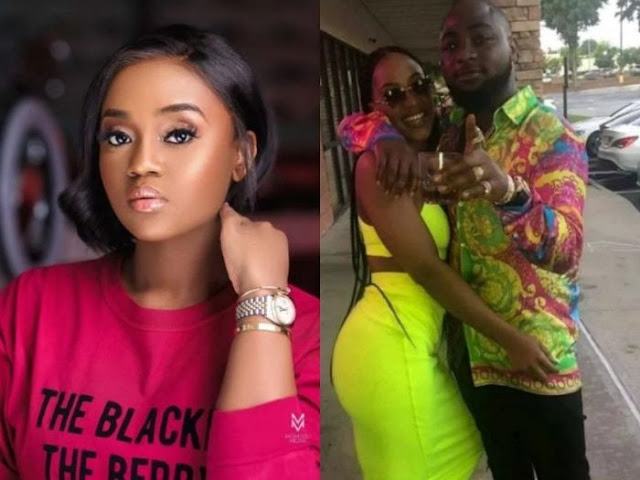 Chioma Mocks Davido And His Atlanta Based Baby Mama Amanda (See What She Posted)