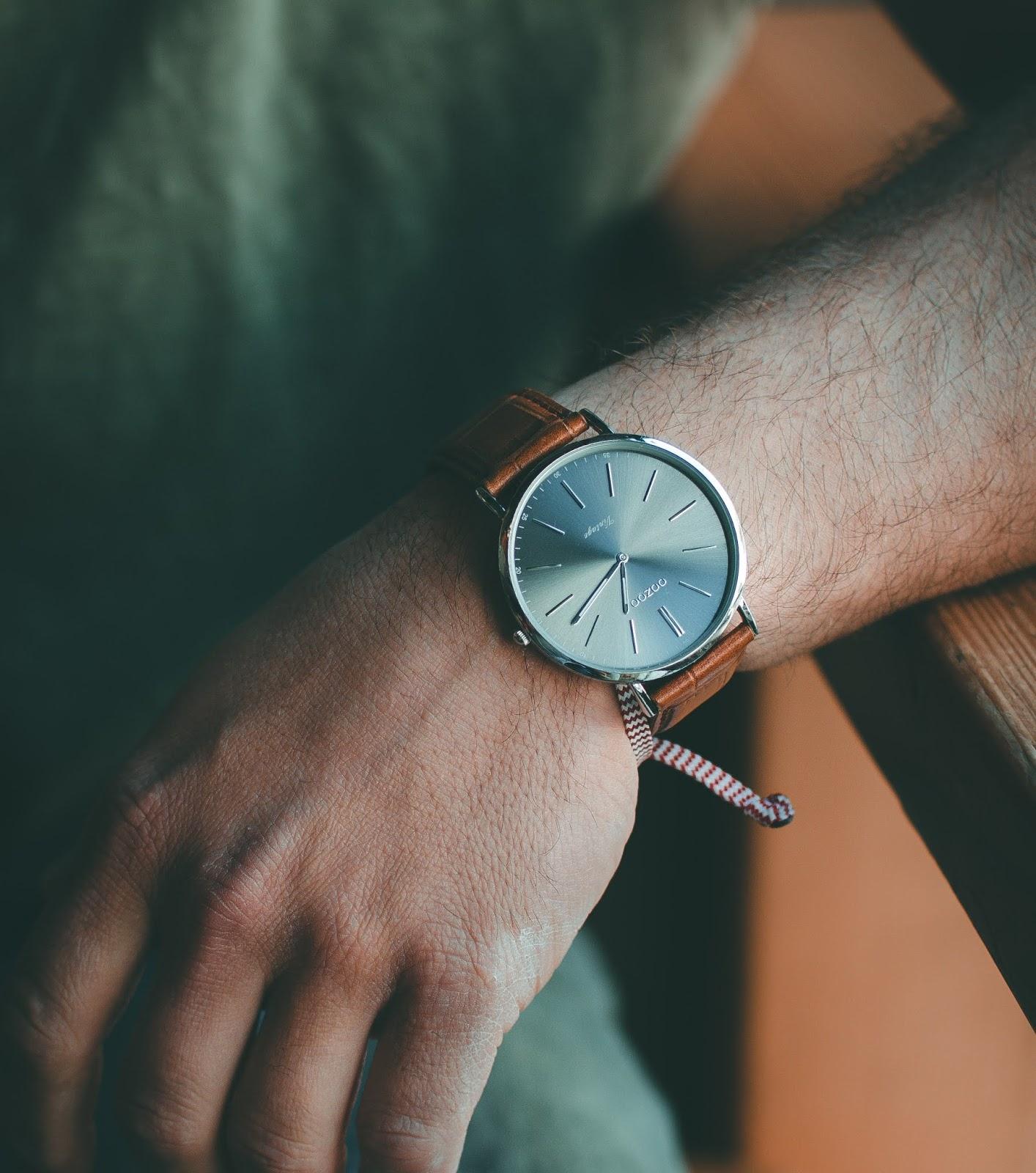 Wristwatch DP for Stylish Boy