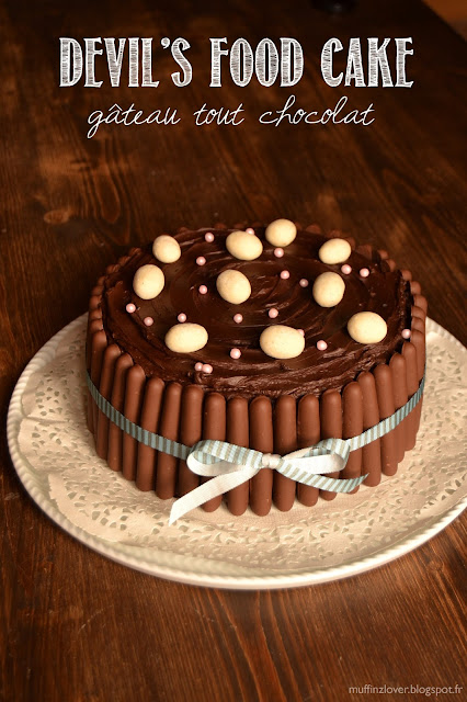 recette gateau chocolat (devil's food cake) - muffinzlover.blogspot.fr